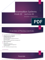 week 22 lec 30  Inform Systems Importance of ethics in IS.pptx