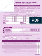 Application and Giro Form for