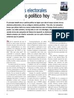 Campañas Electorales y Activismo Politico Hoy