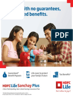 019519019 HDFC Life Sanchay Plus Retail Brochure Final Ctc