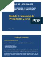04. Intensidad de Precipitacion y Curva IDF