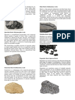 Types of Rocks (1)