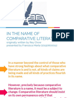 Chapter 3 - In the Name of Comparative Literature