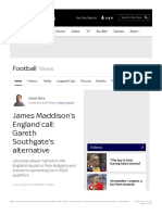 James Maddison's England call_ Gareth Southgate's alternative | Football News | .pdf