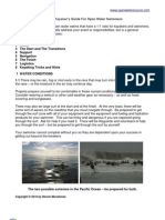 Sample Kayaker's Guide for Open Water Swimmers