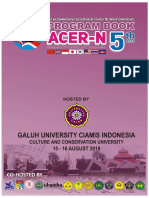 The Program Book 5th ACER-N 2019