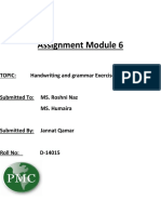 PMC Assignment Module 6