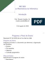 Intro Fundamentos Matemáticos da Informática