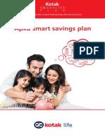 Kotak SmartLife Plan Brochure