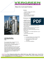 Activated Carbon Technical Data Sheet