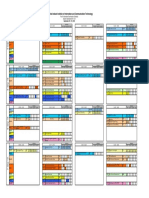 Autumn 2019-20 First in-sem Exam Timetable
