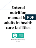 Enteral nutrition manual