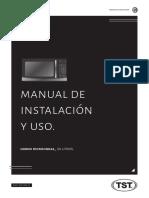 Manual Microondas 30 Litros