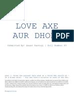 Love Axe Aur Dhoka