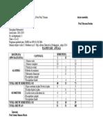 Planificare Anuala X D 2018-2019