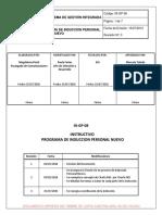 IN-GP-08_Rev.3 Inducción de Personal Nuevo