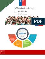 Cuenta Publica 2018 Conicyt Op