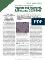 Fitopatie Frumenti 2015-16