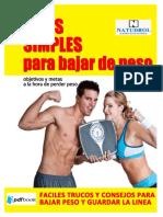 Ideas simples para bajar de peso.pdf