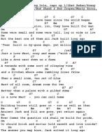 Gitaarakkoorden en Teksten Jazz Standards Met Gitaar CD 7