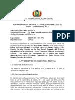 Sentencia0099-2015-S1
