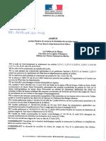 Arrêté préfectoral - Restrictions des usages de l'eau dans la Nièvre