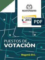 Puestos de Votación