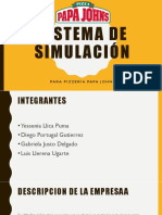 Sistema de simulación