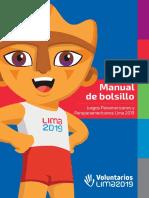 Manual de bolsillo del voluntariado panamericanos lima 2019