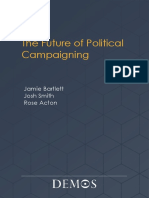 The Future of Political Campaigning