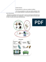 Tipos de Resistencia, Sensor Posición Mariposa, Caudalímetro Aleta y Sensor Posición Acelerador. (Castellanos Huerta)