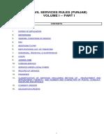 Civil Services Rules Punjab PDF