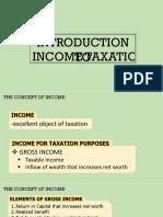 Income Taxation Report