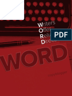 Copyblogger WORD for Writers