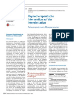 fisioterapia en uci