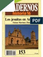 MARTÍNEZ DÍAZ, Nelson, Los Jesuitas en América,