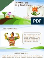 Nutrientes y Funciones