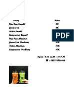 PriceList_Drink.docx
