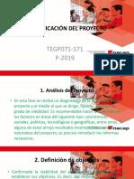 Planificación de Gestión de Proyectos Bajo El PMI.