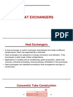 (1) Heat Exchangers