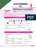 SOF Sample Paper 2019-20 Class-2