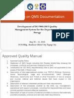 QMS Manual sample