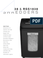 Rexel Shredder Manual