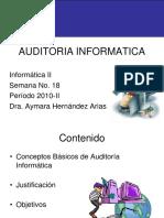 Introduccion a La Auditoria Informatica