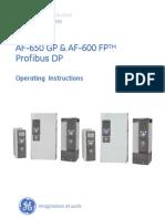 AF-600 FP General Electric VFD
