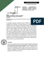 Denuncia Constitucional de Ángel Neyra contra Daniel Salaverry