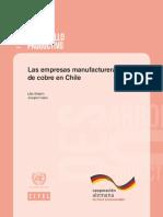 Manufactura de Cu al 2017