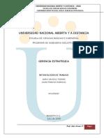 Modulo UNAD   gerencia estrategica 332375. 2013