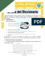 El Uso Del Diccionario Para Sexto de Primaria
