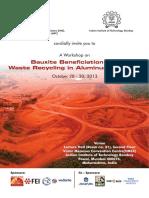 Bauxite Beneficiation Aluminium Industry Workshop 1013